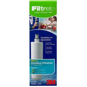 3m filtrete under sink standard replacement water filter