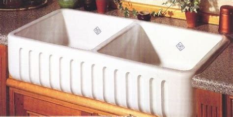 shaws original two bowl farmhouse sink how to choose a kitchen sink part ii abode