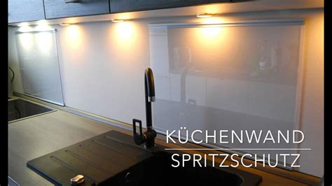 Plexiglas An Wand Befestigen by K 252 Chen Wand Spritzschutz Aus Plexiglas Selber Bauen