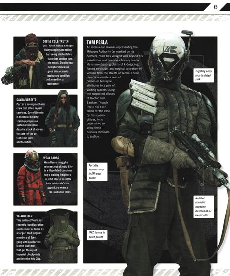 visual guide rogue ultimate star wars saga slideshow