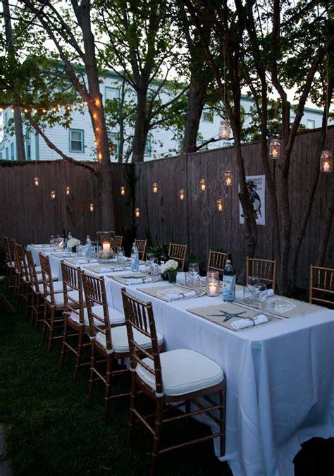 Backyard Garden Wedding Ideas by Best 25 Small Backyard Weddings Ideas On