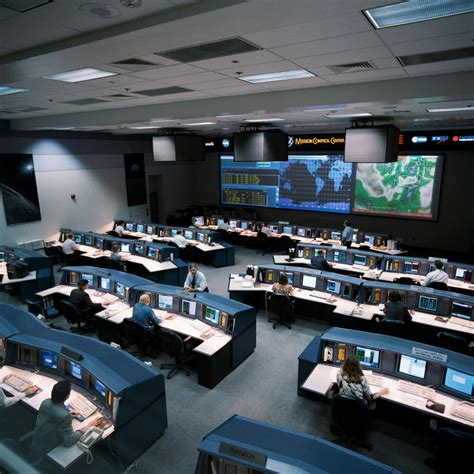 Documentation Of New Mission Control Center White Flight Control Room (flcr) Picryl