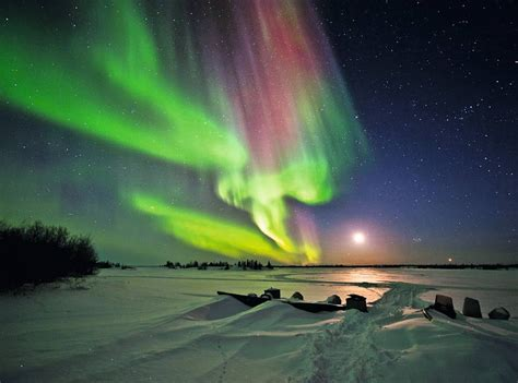 The Northern Lights And Chic Heli Skiing In Canada How