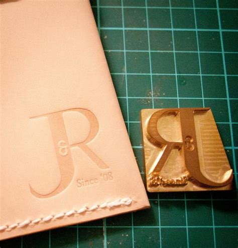 custom leather stamp  embossing stamping leather