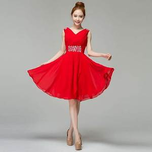 short red wedding dresses With short red wedding dresses