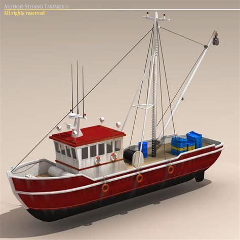 Cartoon Boat C4d by Boat Fishing 3d C4d