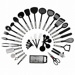 NexGadget Premium Kitchen Utensils 38 Pieces Kitchen ...