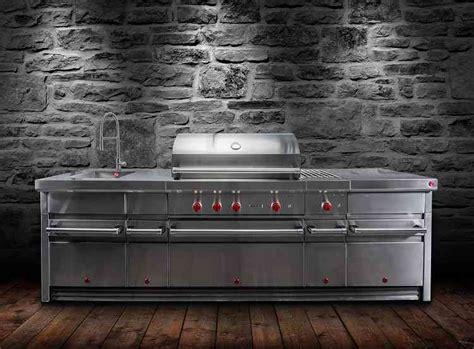 Edelstahl Outdoor Küche by Made Of Steel Wolfs Outdoor K 252 Che Aus Edelstahl