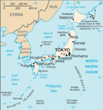 Geography for Kids: Japan