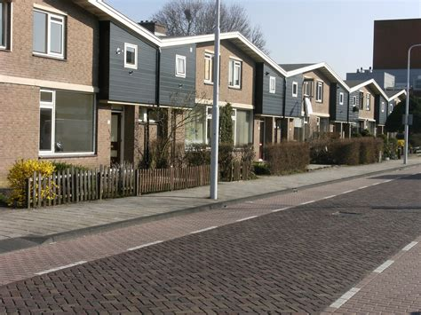images of houses file row of houses street in dronten jpg wikimedia commons