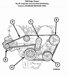 Main Belt Diagram For A Dodge Charger 2006 3 5