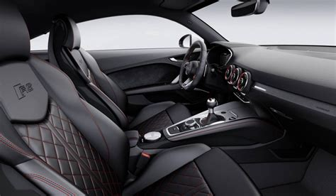 audi tt interior 2017 audi tt rs revealed most powerful with new 2 5t