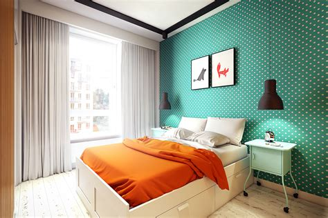 Inspiring Modern Bedrooms For Kids: Colorful, Quirky, And Fun : Interior Design Ideas