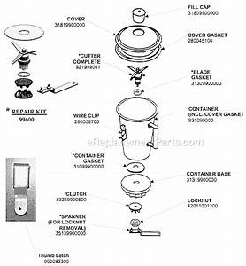 Ninja Blender Parts List