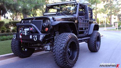 custom 2008 jeep wrangler in monterey modifiedx