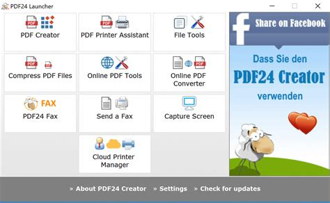 free pdf pdf24 creator the free and easy to use pdf creator