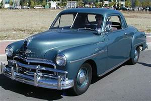 1952 Plymouth Business Coupe