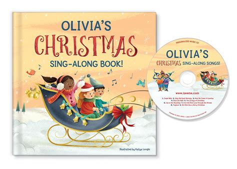 My Christmas Sing-along Book And Songs