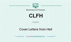 what does clfh mean definition of clfh clfh stands With cover letters from hell