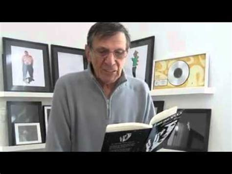 leonard nimoy autobiography leonard nimoy reads from his quot i am not spock