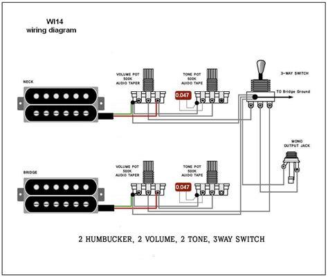 Wiring Diagram Electric Guitar Diagrams