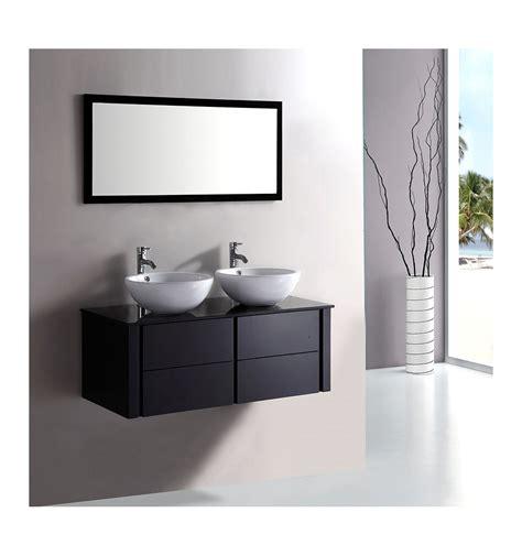 ensemble de salle de bain alcaraz noir meuble salle de bain vasque d 233 coration salle