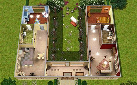 Haus In U Form by Haus In U Form Grundriss Wohn Design