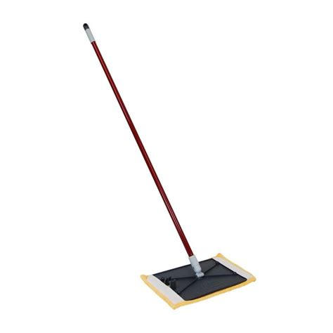 dust mop shop quickie clean results microfiber dust mop at lowes com