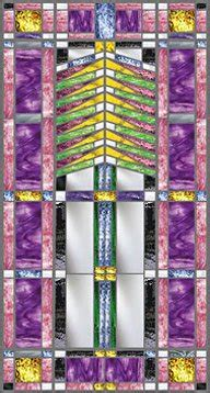 frank lloyd wright inspired stained glass pompei stained fused glass