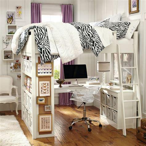 mettre un post it sur le bureau le lit mezzanine avec bureau est l 39 ameublement créatif