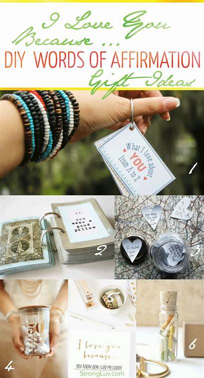 Gift Gifts Things Words Diy Because Affirmation