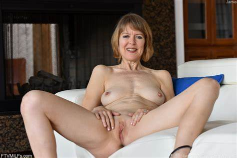 Mature Slender Short Hair With Fat Body