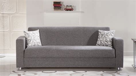 Tokyo Diego Gray Convertible Sofa Bed By Istikbal (sunset