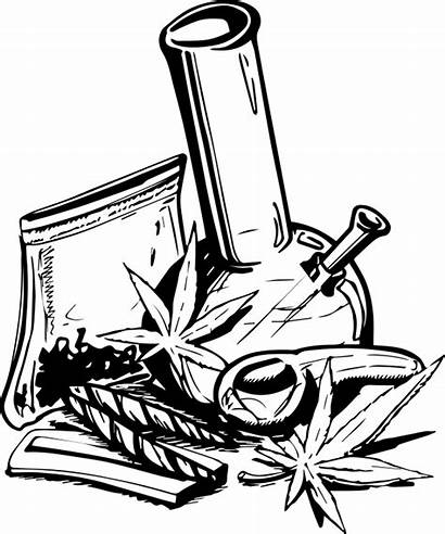 Weed Cool Clipart Transparent Bag Drawings Stoner