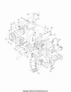 Mtd 1448h  55ae331s195 Parts Diagram For Hydro Pump Assembly