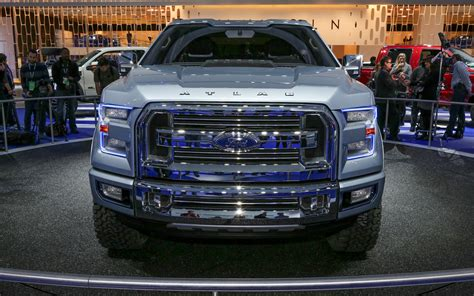 future ford trucks styling showdown ford atlas concept vs 2013 ford f 150