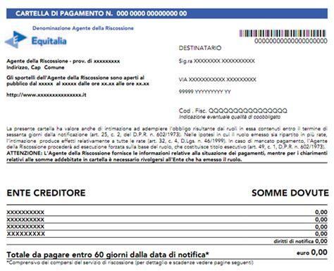 Ufficio Tributi Pavia - nuovo modello di cartella di pagamento aggiornato all