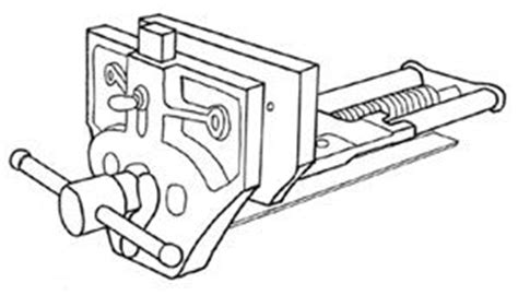 mounting quick release vise instructions