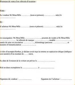 Vente Meuble Occasion Entre Particulier by 10 Contrat De Vente Voiture Curriculum Vitae Etudiant