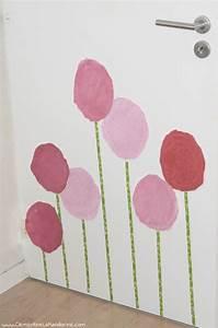 Decoration Murale Fleur : diy d coration murale de fleurs g antes cl mentine la ~ Teatrodelosmanantiales.com Idées de Décoration
