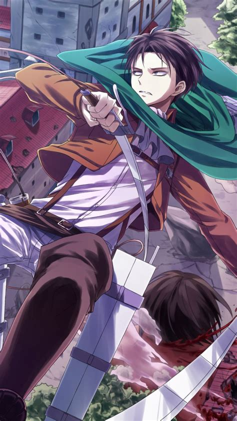 anime attack  titan levi ackerman shingeki  kyojin