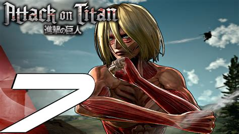 attack  titan gameplay walkthrough part  titans eat