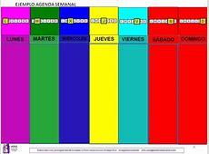 Elaboración agendas con pictogramas ANA Asociación