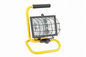 Portable Halogen Shop Light