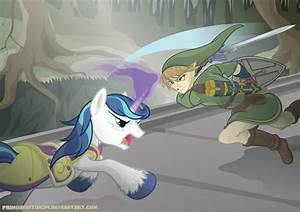 Link vs. Shining Armor by Primogenitor34 on DeviantArt