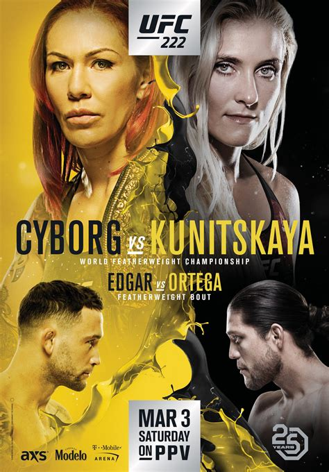 check   official posters  ufc   ufc glendale