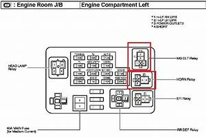 2004 Toyota Sienna Ac Relay Location  Toyota  Wiring Diagram Images