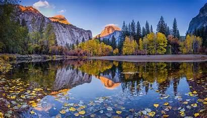 Yosemite Autumn Mountain Desktop Park National California