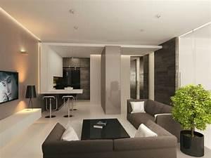 Moderne Wohnzimmer Wandgestaltung : 43 pr chtige moderne wohnzimmer designs von alexandra fedorova ~ Michelbontemps.com Haus und Dekorationen