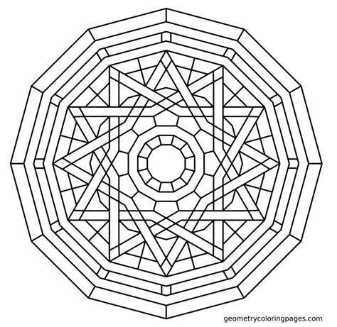 coloring pages geometry coloring page elemental